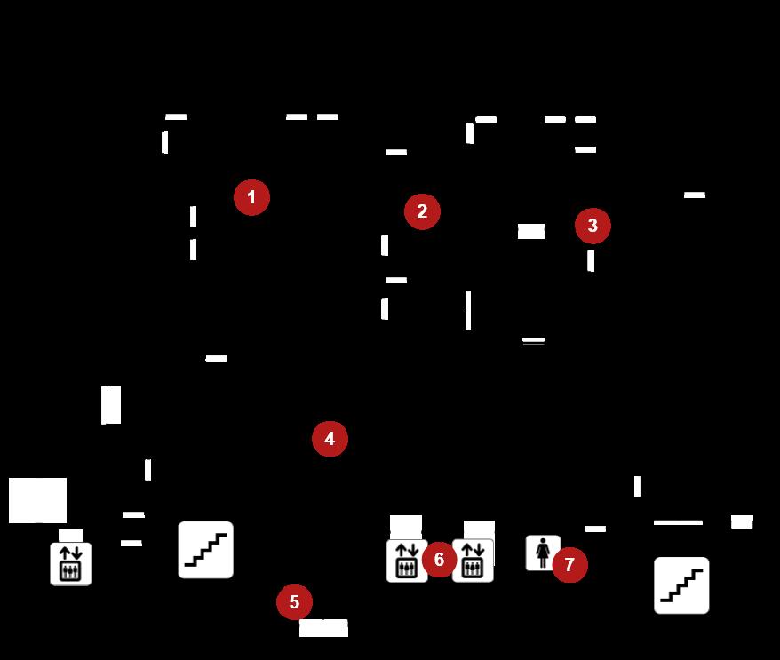 Library Floor 2 – Lobby